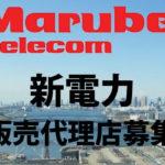 新電力募集(東京電力)丸紅テレコム 代理店募集レプレ
