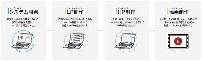 システム開発とHP制作 代理店募集レプレ