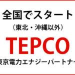 東京電力TEPCO(テプコ)